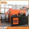 Orange Semi Auto Blowing Machine , Machine For Making Plastic Bottles