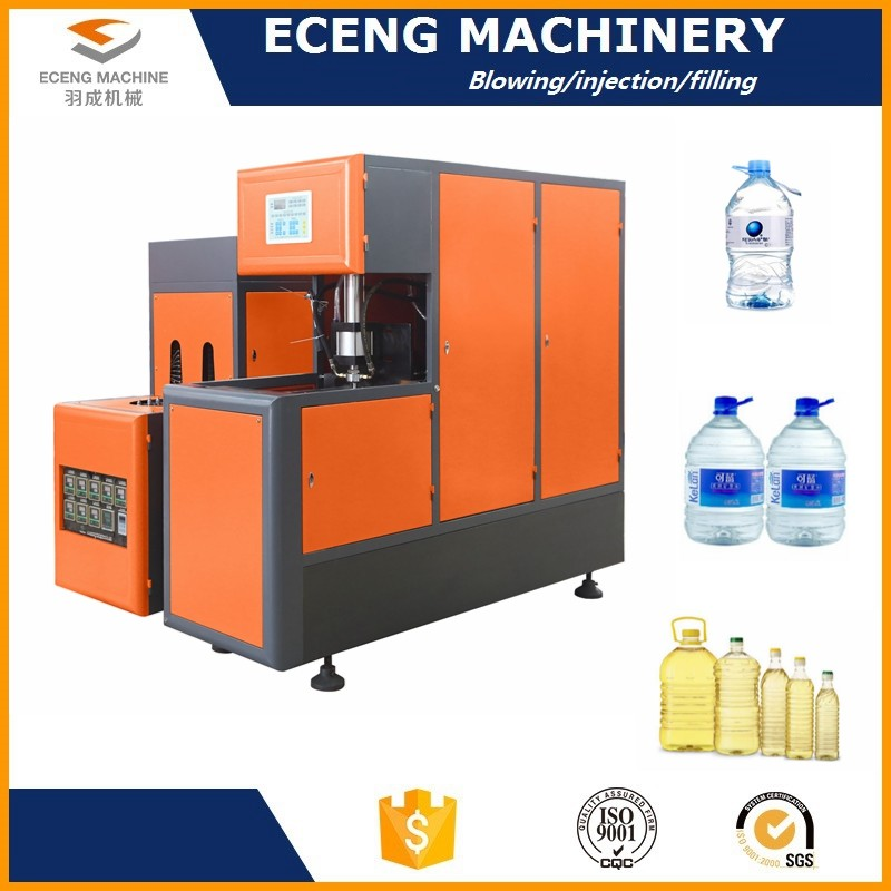 Infrared Pre - Heating Pet Bottle Making Machine Making Oil Bottles With Handles