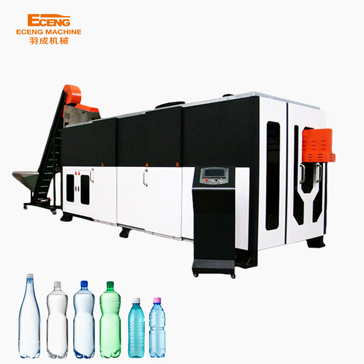Fully Auto Mineral Water Bottle Blowing Machine , Plastic Bottle Manufacturing Equipment